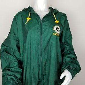 Green Bay Packers XXL Lightweight Windbreaker